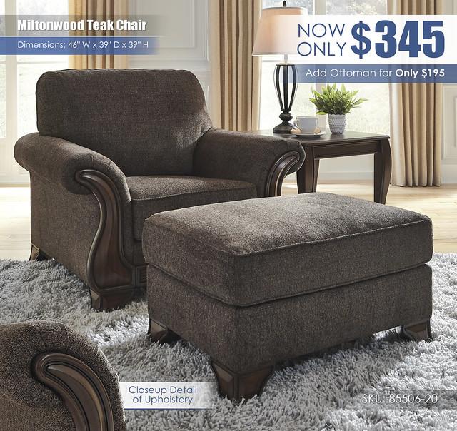 Miltonwood Teak Chair_85506-20-14