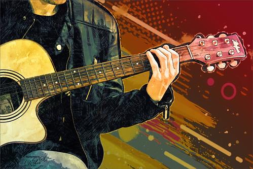 Pixabay image of a guitar player