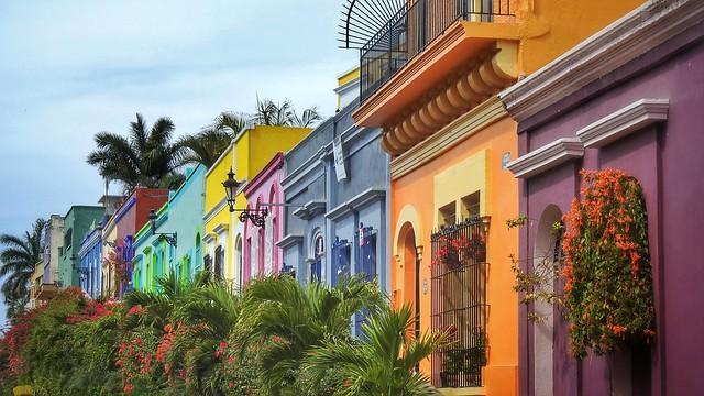 Colourful Mazatlan, Mexico