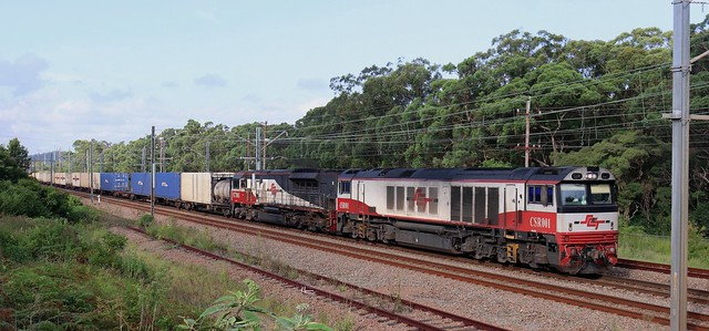 CSR001 & SCT005 SCT TAREE TO SYDNEY FREIGHT - AWABA 26th Feb 2021.
