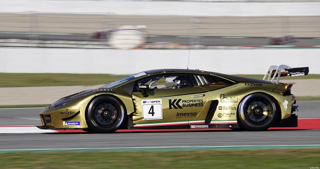 Lamborghini Huracan GT3 EVO / Marc Rostan / FRA / Claude-Yves Gosselin / FRA / Boutsen Ginion