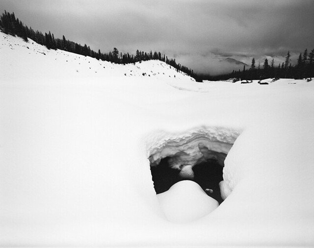 The surreal landscapes of winter