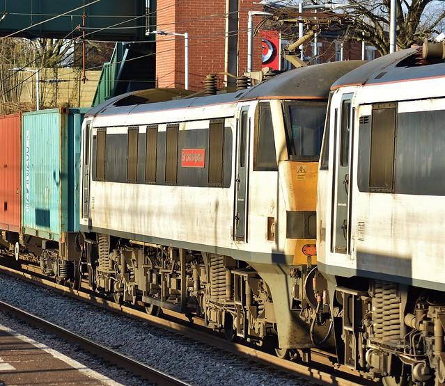 90007 at Leyland