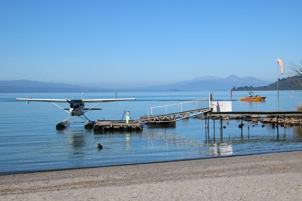 Calm morning on Lake Taupo