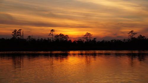 sunsetsandsunrisesgold sunset cloudsstormssunsetssunrises spectacularsunsetsandsunrises sony sonya58 sonyphotographing northcarolina northwestcreek fairfieldharbour