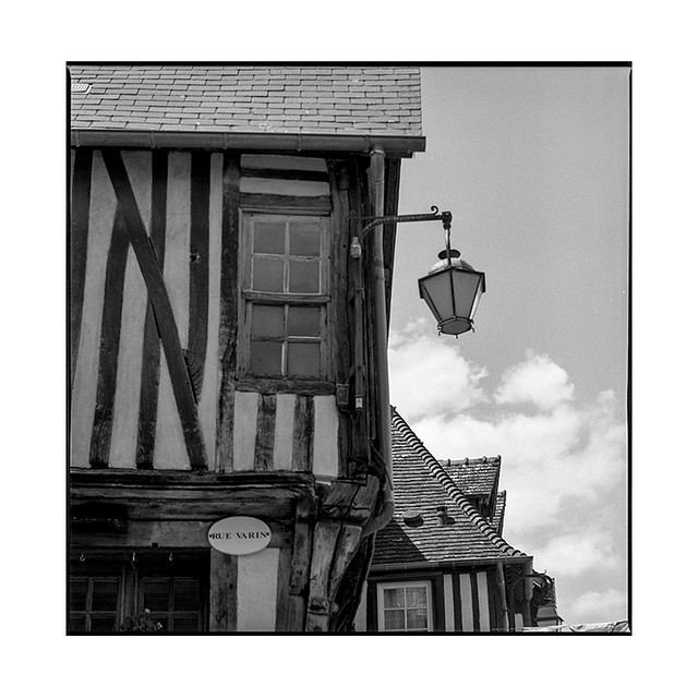 wooden houses 2 • sens, burgundy • 2019