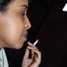 DSC_0094 Jasmine from Somalia Smoking Portrait Sunday Lunch Shoreditch London