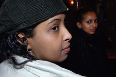 DSC_0078 Jasmine from Somalia and Paola from Ethiopia Sunday Lunch Shoreditch London
