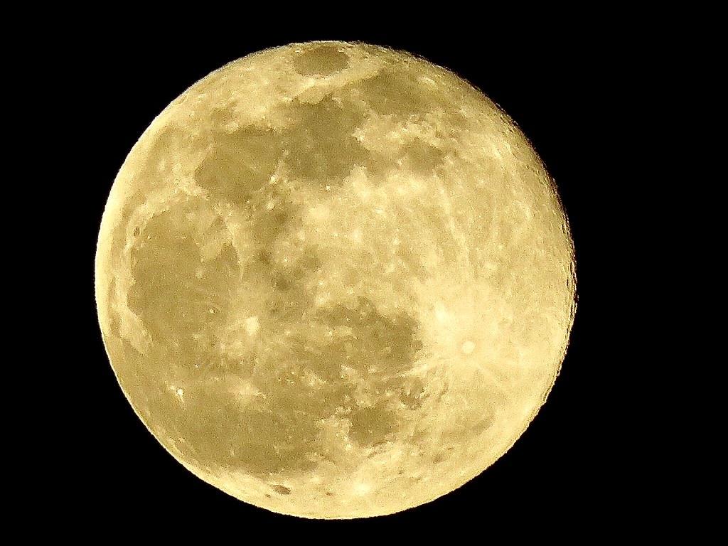 Snow moon February 27, 2021 Rochester, NY