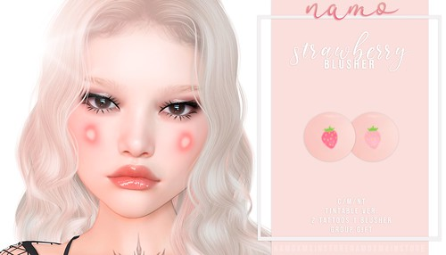namo. strawberry blusher