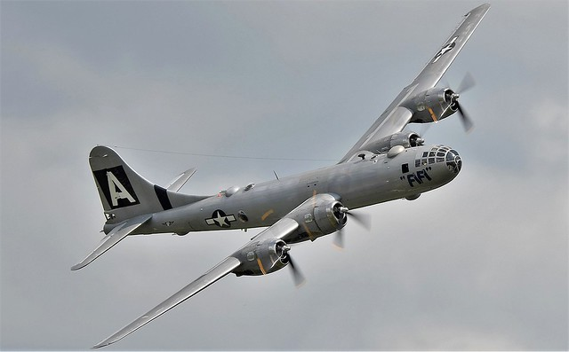 Boeing B-29 Superfortress Fifi NX529B served with USAAF USAF USN 44-62070