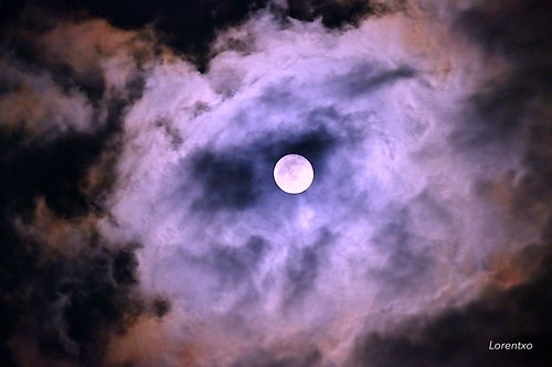 La luna llena de esta noche