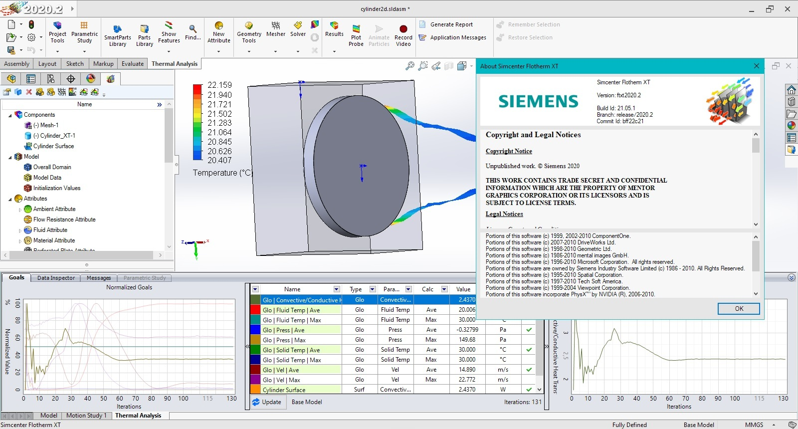 Download Siemens Simcenter Flotherm XT 2020.2 Win64 full license