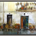 BOT-ART-PINTURA-TERRA ALTA-TARRAGONA-CATALUNYA-PAISAJES-DECORACION-CALLES-MACETAS-FLORES-PLANTAS-PUERTASS-BALCONES-ARTISTA-PINTOR-ERNEST DESCALS