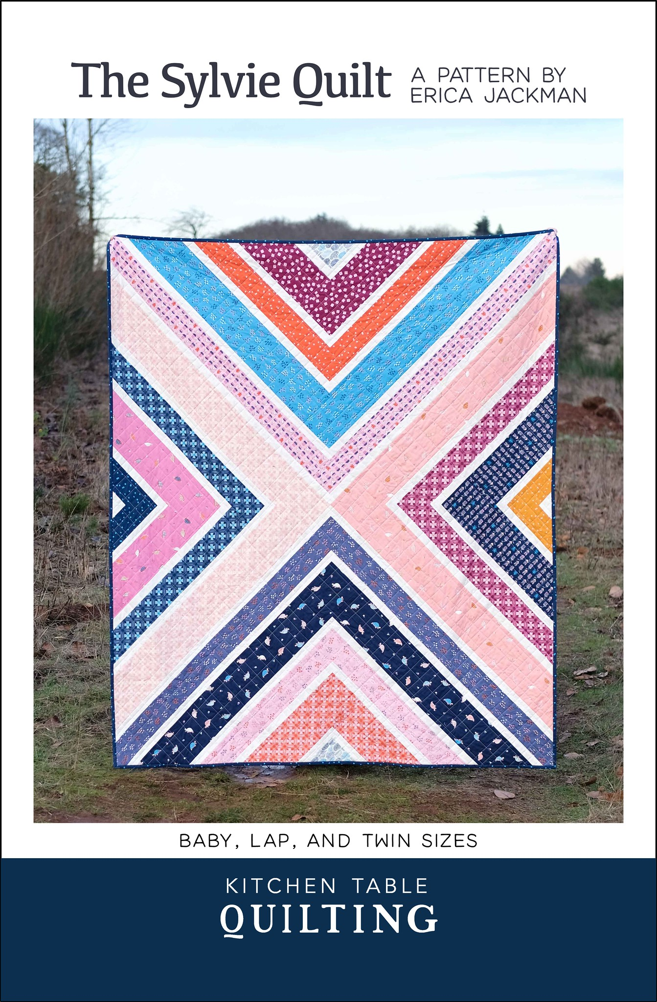 The Sylvie Quilt Pattern - Kitchen Table Quilting