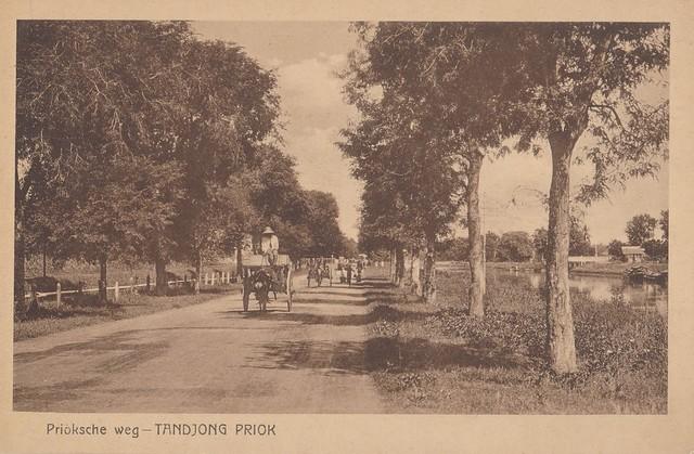 Tanjung Priok - Jalan Priok, 1920