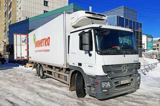 Mercedes-Benz Actros 2541  К 431 РО 196 (RUS)