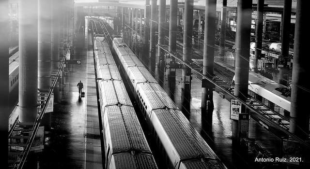 Madrid. Atocha. Next Station.