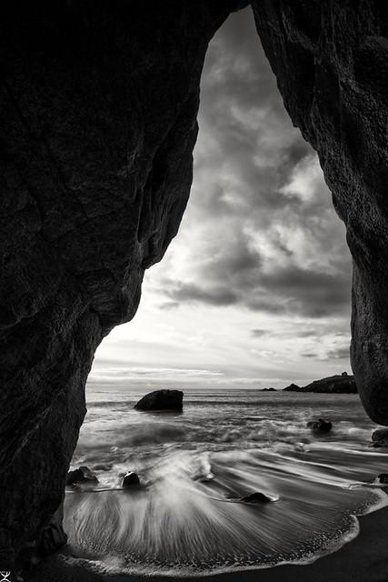 Grotte avec vue