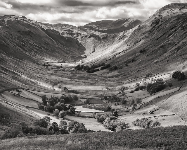 In the valley below…….