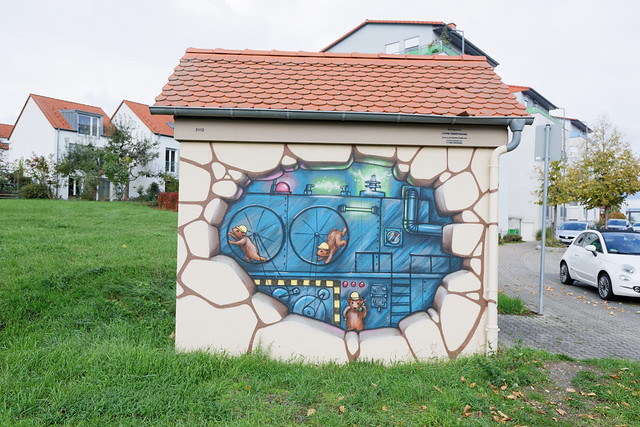 Streetart in Bad Vilbel