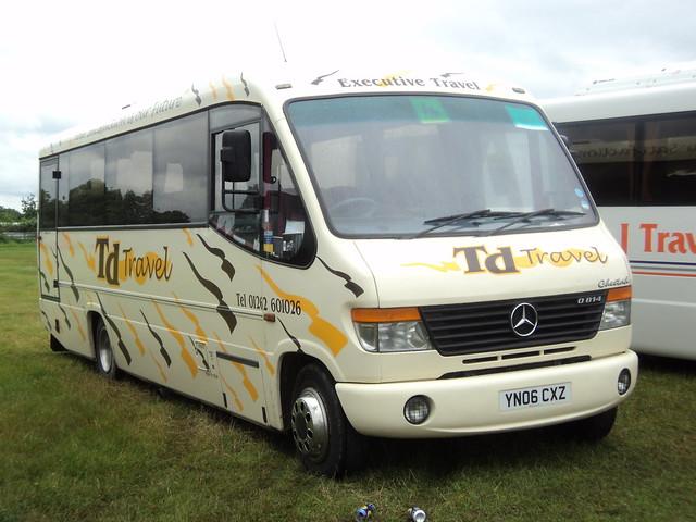 T D Travel of Bridlington YN06CXZ