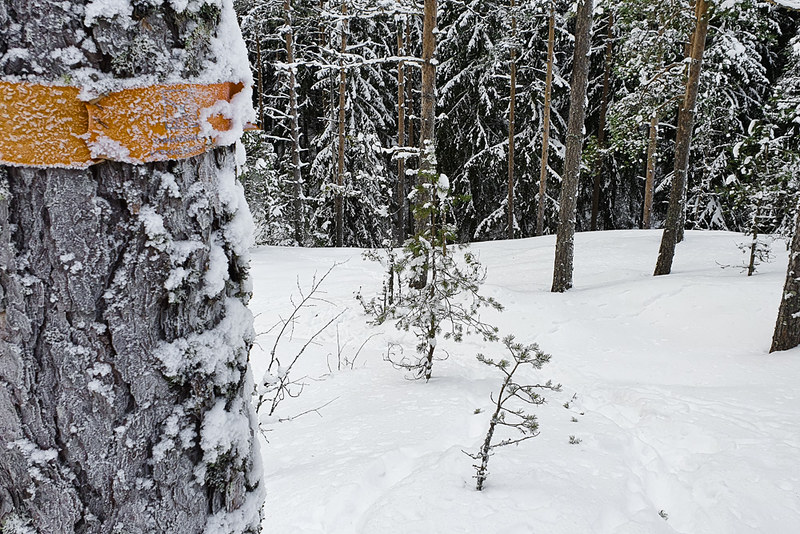 Kahden järven kierros, Varsinais-Suomen retkeilyreitit