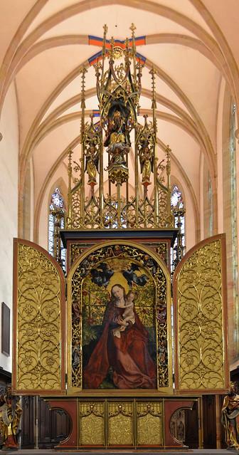 Colmar (Haut-Rhin) - Eglise des Dominicains - Retable