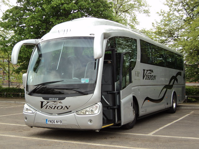 Vision Corporate Travel of Widnes YN06NYB