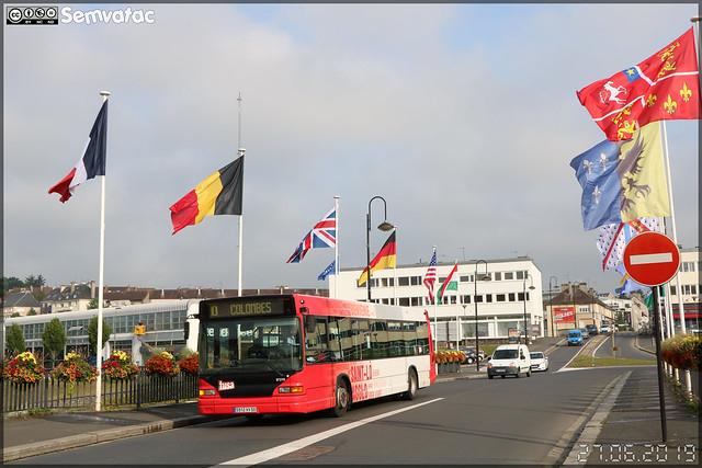 Heuliez Bus GX 317 – Autocars Delcourt / Tusa (Transports Urbains Saint-Lô Agglo) ex Transdev Saint-Lô n°97219
