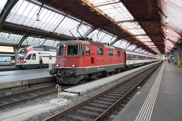 SBB Re 4/4 420 146 Zürich Hbf