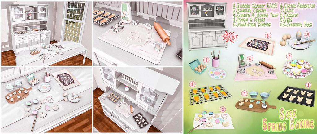 Sese – Spring Baking