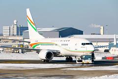 Nigerian Government B737 BBJ (5U-GRN) in Brussels (EBBR)