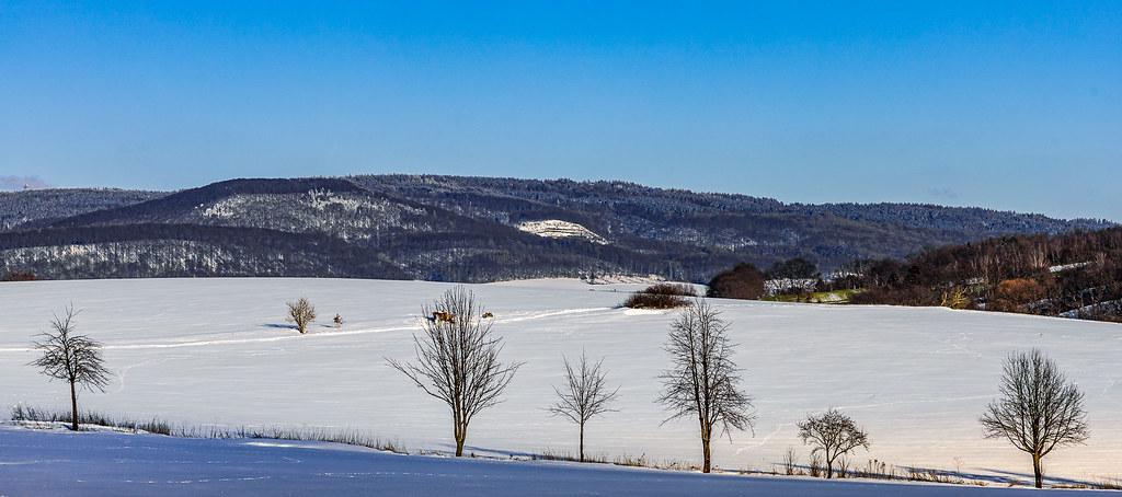 Schneetour im Nährenbachtal