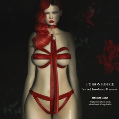 POISON ROUGE Sweet Insolence Harness