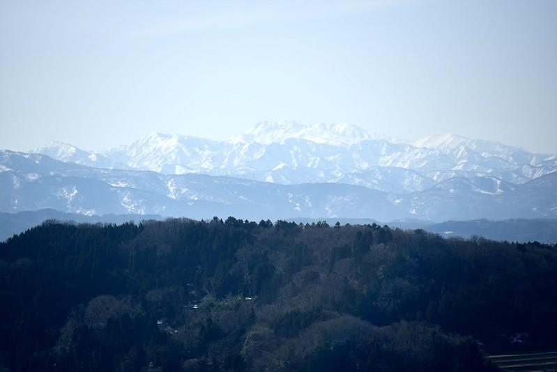 津幡町菩提寺からの白山