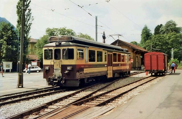 Berner Oberland Bahnen (BOB) no. 312