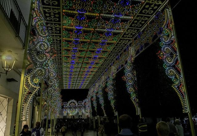 Lights Celebrating Feast Day of Saints Cosmas and Damian in Alberobello - Puglia 60