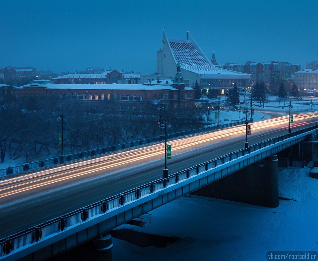 Omsk winter