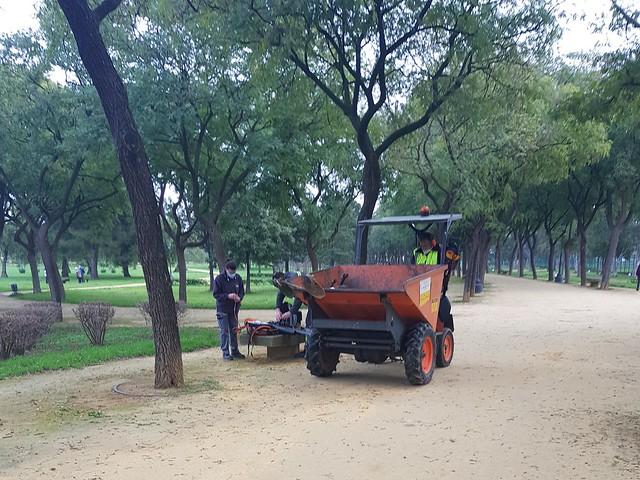 Mantenimiento Parques Sevilla