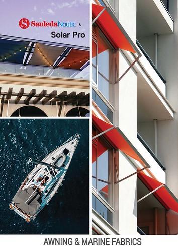 Sauleda Nautic and Solar Pro Awning Marine Color Card