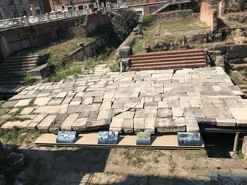 ROMA ARCHEOLOGICA & RESTAURO ARCHITETTURA 2021. Largo Argentina: al via i lavori per valorizzare gli scavi nell'Area Sacra. Corriere Della Sera (23/02/2021) & Foto: Sovrintendenza Capitolina / Facebook (16/02/2021).