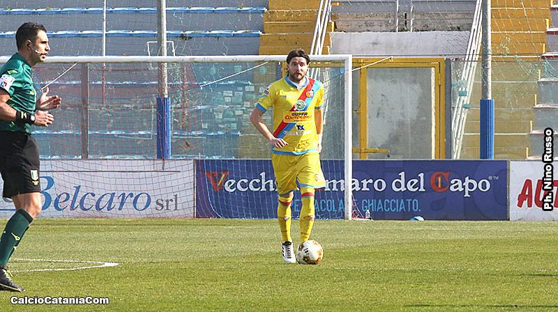 Antonio Giosa, autore del gol vantaggio