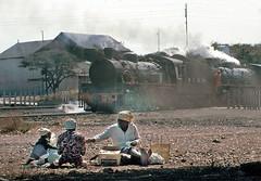 Wankie Colliery scene, Zimbabwe