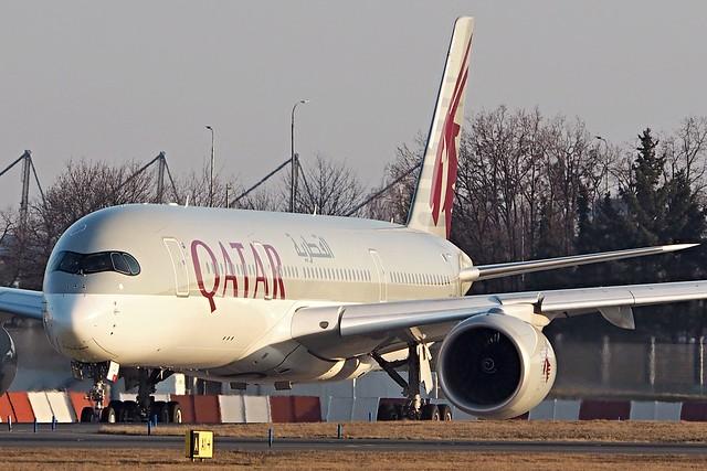 Airbus A350-941  A7-ALG — Qatar Airways