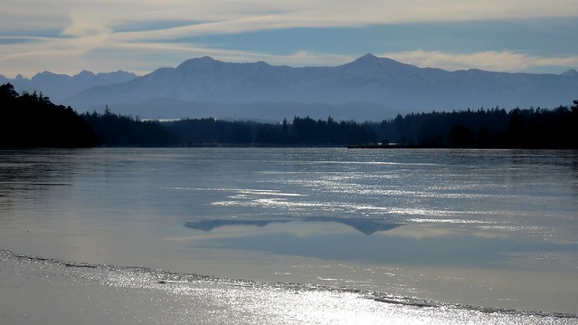 Es taut am See - It thaws at the lake (Ostersee)