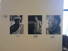 Boxing photos in exhibit