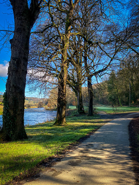 Slaney Riverside walk (leading to 17th hole)