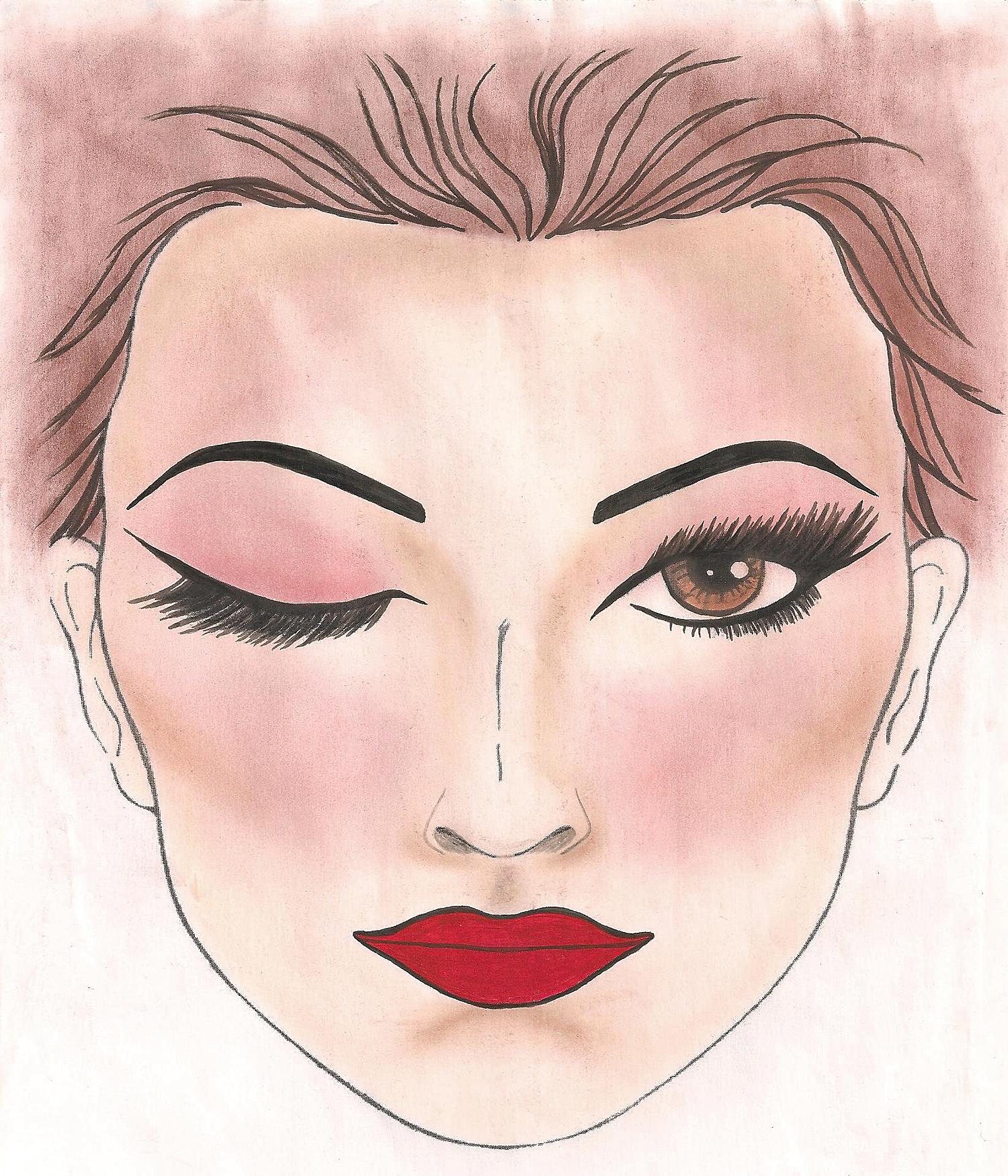 Face Chart - 2