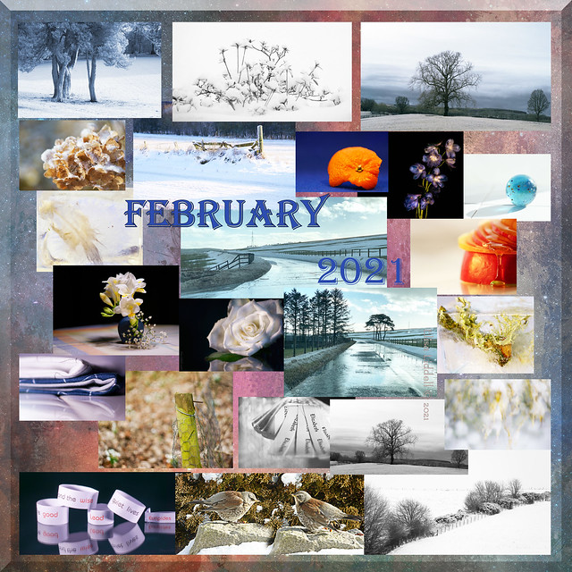 And February departs ....